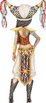 Aztec Cowboy Mage Warrior...Lady by Crazy-Lola