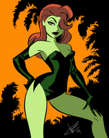 BTAS: Poison Ivy by DarkKnight60s