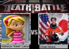 Death Battle - Katie vs. Chiaki Mukai by MatthewJabezNazarioI
