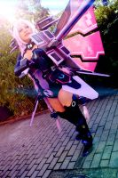 Hyperdimension Neptunia cosplay by Necroquantum