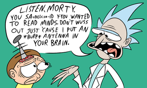 Rick and Morty Forever for One Hundred Years by NocturnalMeteor