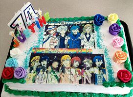 Uta no Prince-sama Birthday Cake by Falcofan100