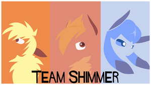 Team Shimmer wallpaper by Bolteyboltt