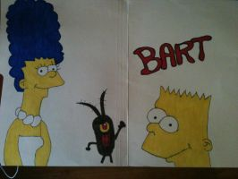Simpson Drawing.. by Greatseb