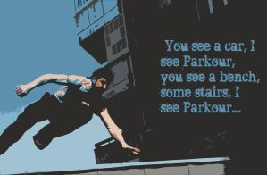 parkour by FamousD