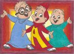 Alvin and the Chipmunks by KieramelKisses