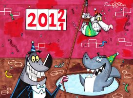 Snappy New Year 2012 by Creative-Dreamr