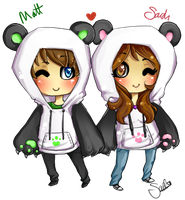 Panda Sweaters by Buried-Above-Love