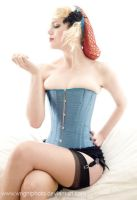Frankii's New Corset 01 by wrightphoto