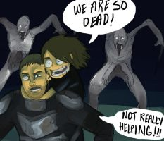 Dead Space 2: Helping by cherrysplice