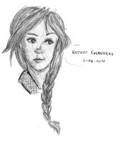 Katniss Everdeen by shandsy