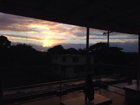 Sunset over Vieques by orchid413