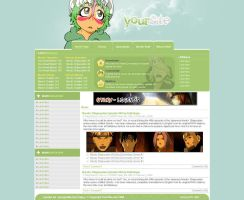 Animev2 WebDesign by DamageXtreme