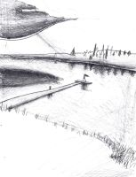 going home- rough scetch by HaybailScott