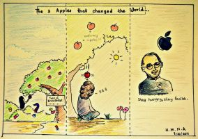 Apples that changed the World by HMNA