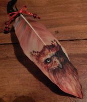 Sold! Phoenix Feather by queenofeagles