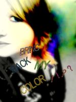 .:Bring Back My Color:. by RikkiluvsGaara1