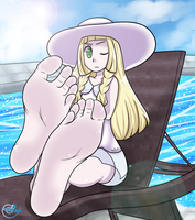 Lillie Feet PoV (+Alt) by Soleful-Jane