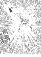 Aegis in action by WitchOfStories