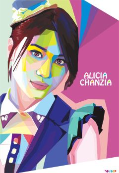 Wpap Alicia Acha Jkt48 by MadiazRoby