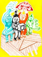 Microwave Bears Squad by hyronomous