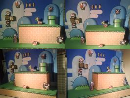 Super Mario World Diorama by JDLinus