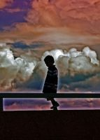 Silhouetted Boy by psimpson1