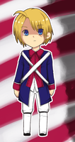 Alfred 1775 chibi by Temima