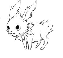 yawn JOLTEON! ANIMATION by michellescribbles