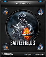 Battlefield 3 game icons by 3xhumed