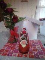 Chocolate filled edible shoe by WickedMarionette
