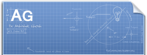 Blueprint Facebook Timeline Cover by AbhishekGhosh