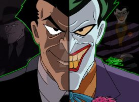 DCAU Duality - Jack Napier/The Joker by OptimumBuster