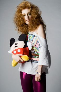 Mickey Mouse is Fashion III by Toeps