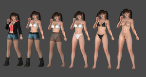Lei fang Casual Battle v2.0 Re-make Completed by bstylez