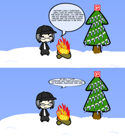A Lonely Christmas by Sorohn