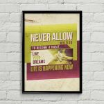 Never Allow Printable A4 Poster by MysticEmma