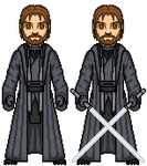 Male Jedi Exile II by SpectorKnight