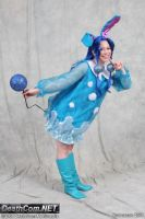 Gijinka Azumarill Cosplay 2 by lunaladyoflight