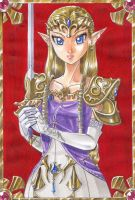 PrincessZelda by Arashi-H