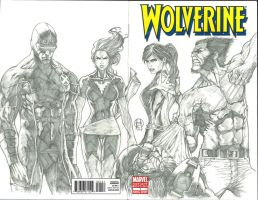 Wolverine and the X-men Commission by Ace-Continuado