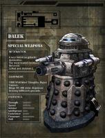 Special Weapons Dalek by DarkAngelDTB