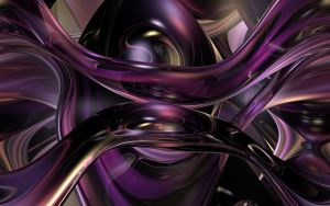Purple Glass Flow by TexManson