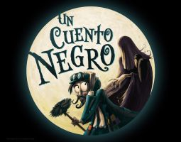 Un cuento Negro - A Black Tale by gonzalokenny