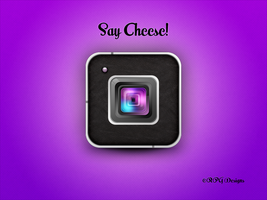 Say Cheese! - Square Camara Icon by Msbermudez