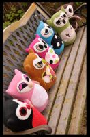 Owls for sale by MangoIsland