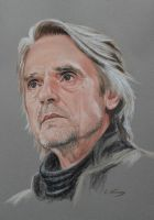 Jeremy Irons portrait by Andromaque78