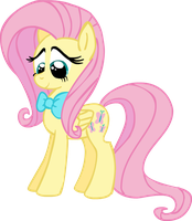 Fluttershy with a bowtie by Nutty-Nutzis