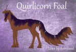 Quirlicorn Mutation: Midnight Hour by Agaave