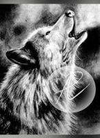 Howling Wolf by MsAlayniousCreations
